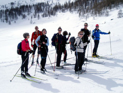 Wintertouren: Winterspaß im Engadin 14.-21.03.2011